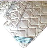 Seiden Sommerdecke Bettdecke Wildseide-Baumwolle 135 x 200 cm Füllung 60% Seide und 40% Baumwolle MicroSilk